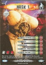 DR WHO ULTIMATE MONSTERS CARD 631 HUSK 1