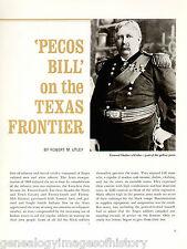 Pecos Bill - William Shafter+Forty-first Infantry+Bullis,Dodge*,Evans,Grant
