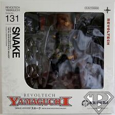 """SNAKE Metal Gear Solid Yamaguchi Revoltech 6"""" inch Action Figure #131 2014"""