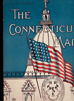 The Connecticut March by William Nassann (1912) 10 1/2 x 13 Flag Cover