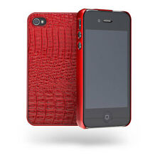 Cygnett Skin Textured Slim Case/Cover For iPhone 4/4S - Red NEW Retail