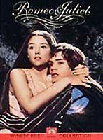 Romeo & Juliet DVD R1 *NEW* 1968/2000 Franco Zeffirelli Shakespeare Michael York