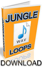 JUNGLE WAV LOOPS  - 1,360 SAMPLES -  FL STUDIO - FRUITY LOOPS - KONTAKT - HALION
