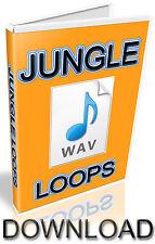 JUNGLE WAV LOOPS  - 1,360 SAMPLES -  FL STUDIO - FRUITY LOOPS - KONTAKT - HALION