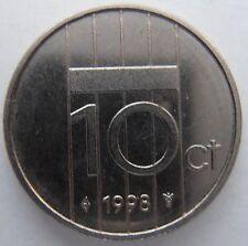 NETHERLANDS 10 CENT 1998
