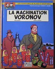 Très belle E.O. BLAKE et MORTIMER T14 LA MACHINATION VORONOV