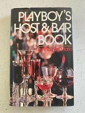 Vintage Playboy'S Host & Bar Book 1971 Drink Recipes Hardcover Cocktail Mario