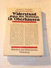 Widerstand gegen den Nazismus in Oberhausen