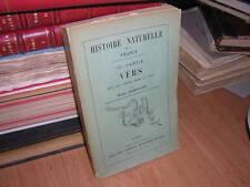 1910.les vers / Rémy Saint-Loup.histoire naturelle