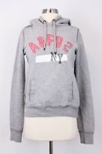 Abercrombie & Fitch A&F Women Lady M Gray Hoodie Top