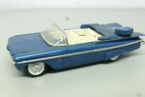 Vintage Built Model Car 1/25 1959 Chevrolet Impala Convertible Junkyard Parts