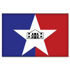 "SAN ANTONIO Texas Flag bumper sticker decal 5"" x 3"""