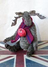 """Harry a 7"""" Reindeer Elk Moose Jointed Christmas Artist Bear - Handmade in the UK"""