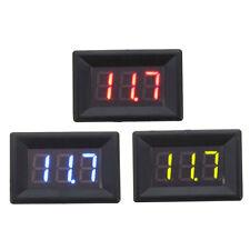 DC 0-100V 0.36inch LED Car Auto Voltmeter Gauge Voltage Display Volt Panel Meter