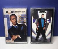 Lot of 2 1990 Hip Hop Rap Cassette Tapes:  MC Hammer & Vanilla Ice