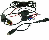 BuyBits Breve Alta Potenza Micro C Moto Diretta A Batteria Collegamento Charger