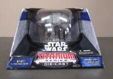 """AT-AT Walker 2006 STAR WARS Titanium Series Die Cast MIB 7"""" Large Ultra"""