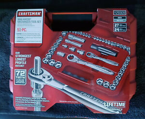NEW-Craftsman 51 pc. Max Axess Mechanics Tool Set