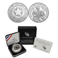 2015 U.S. Marshals Service Silver $1 Commemorative Proof Coin (OGP/COA)