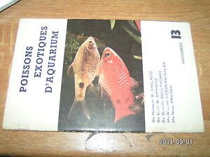 Supplement Axelrod Poissons Exotiques d'Aquarium n°13