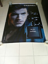 AFFICHE CHANEL BLEU GASPARD ULLIEL 4x6 ft Shelter Original Fashion Luxury Poster