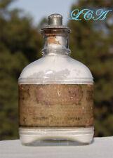 FANCY antique LARKIN Modjeska TOOTH POWDER bottle DENTIFRICE from 1800's.