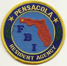 Fbi: florida! pensacola residente Agency Police Patch federal placa de policia