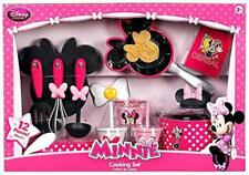 Disney Minnie Mouse Gourmet Cooking Set Girls pretend Play Toy Learning Playset