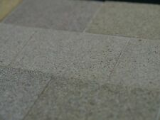 "100 Sq"" REAL Grey Stone 2"" x 1 1/2"" miniature Flagstones"