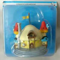 Le Palais du Schtroumpfissime  N°7  Neuf village figurine schtroumpf maison
