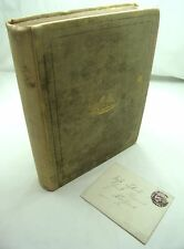 VALE OF ANWOTH D. BROWN ANDERSON 1st EDITION INSCRIBED BY AUTHOR 1899 ANTIQUE