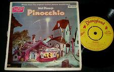 WALT DISNEY'S PINOCCHIO - DISNEYLAND AUSSIE 1950s EP