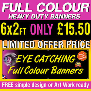PVC Banners Outdoor Vinyl Banner Advertising Sign Display Printed Heavy Duty