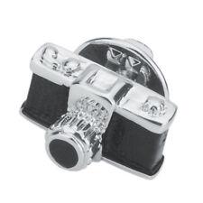Men Women Camera Brooch Badge Pin Sweater Collar Button Jewelry Accessories