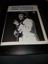 Steve Alaimo One Woman Rare Original Promo Poster Ad Framed!