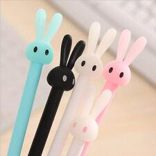 4pcs/Set Cute Black Gel Pen Signature Pen School Office Supply Neutral Pen
