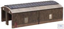 42-0035 Scenecraft N Gauge Wooden Carriage Shed