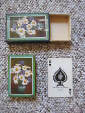 Vintage Playing Cards - Arrco Playing Card Co. - Daisies - with Box