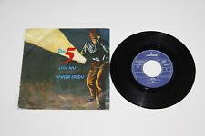 """7"""" DE 5 - Lige Nu - Hvor er du - NL 1985 - Vinyl Mercury  sehr Rare NM"""