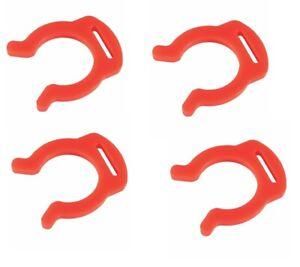 "4 x JG Locking Clip 1/4"" for Inline Water Filter Fridge Filters Reverse Osmosis"