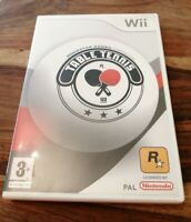 NINTENDO WII GAME TABLE TENNIS LOVELY CONDITION NO MANUAL ROCKSTAR GAMES 3+