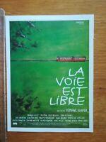 FICHE CINÉMA Première FILM - La voie est libre S Clavier 1997 F Cluzet C Denis