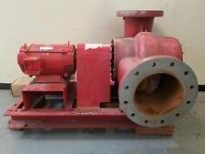Bell & Gossett Pump VSCS 10x12x11 8 3/4 RHR 2000 GPM w/ US Electrical Motor 10HP