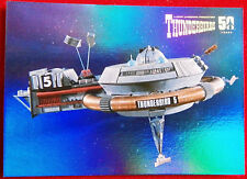THUNDERBIRDS 50 YEARS - FOIL CHASE CARD - F10 -THUNDERBIRD 5 - Unstoppable Cards