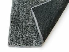 Indoor / Outdoor Grey Black Artificial Grass Turf Available in Multiple Sizes