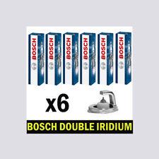 6x Bosch Iridium Spark Plugs for LEXUS RX350 3.5 2GR-FE 276bhp 277bhp