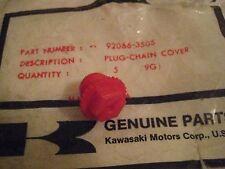KAWASAKI SNOWMOBILE DRIFTER CHAIN COVER CASE PLUG 1980 NOS!