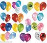 Disney Character Latex Party Balloons Kids Birthday Decorations Supplies 8pk Fun