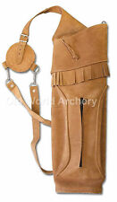 Vista Honcho Traditional Leather Back Quiver
