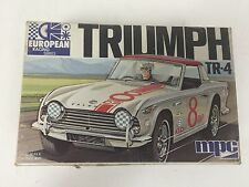 MPC Triumph TR-4 Model Kit 1/32 European Racing Series